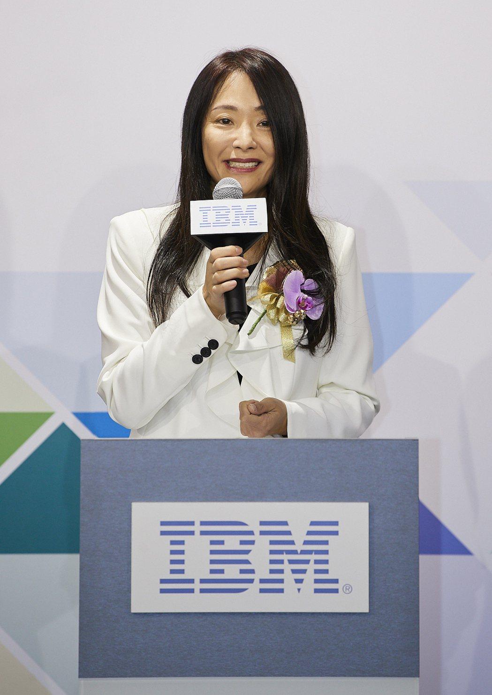 台灣IBM總經理高璐華指出,台灣IBM客戶中心和IBM創新場域的啟用,宣示IBM...
