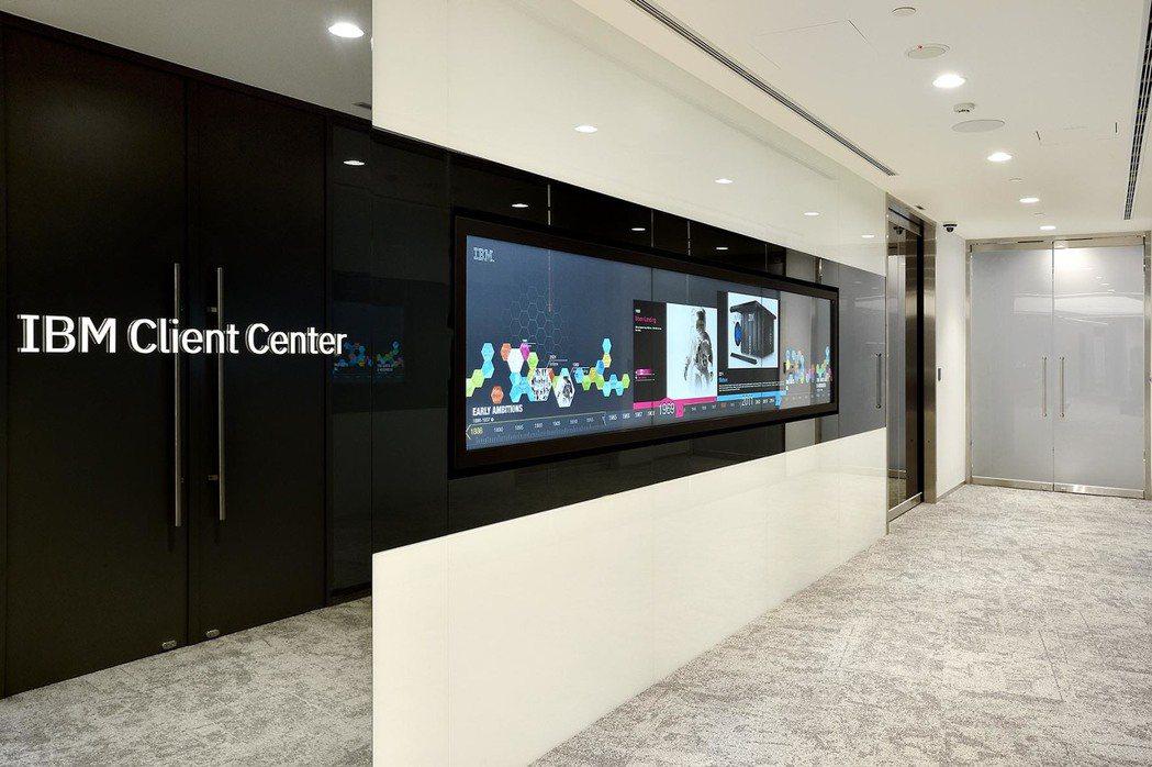 IBM客戶中心展示AI、區塊鏈等創新應用情境,協助企業預測風險、評估效益,打造客...