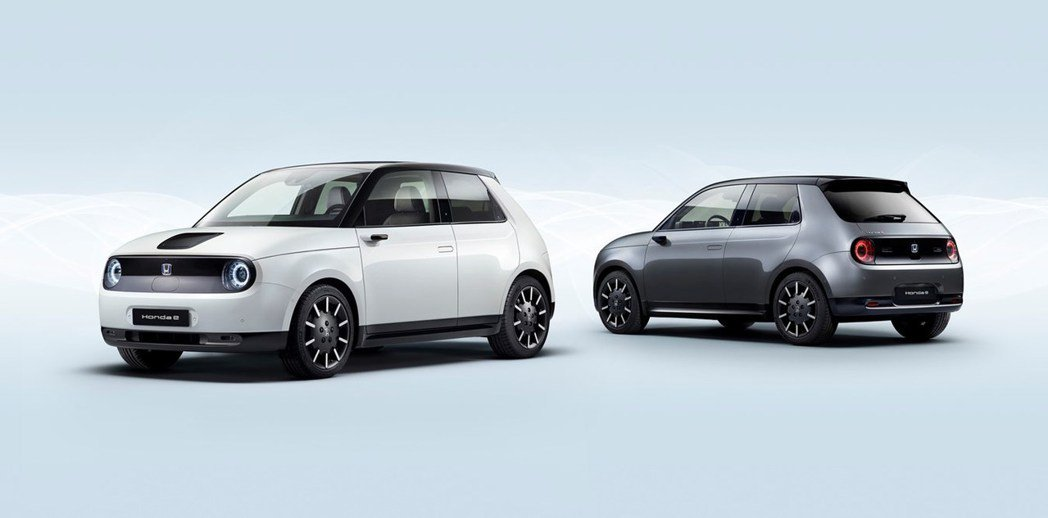 Honda e具備兩種動力輸出的車型。 摘自Honda