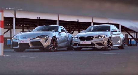 影/Toyota Supra和BMW M2 Competition在賽道誰比較快!