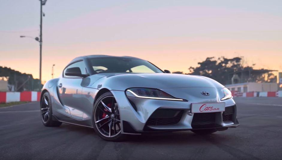 Toyota GR Supra。 截圖自Cars.co.za影片