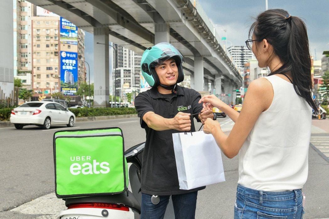 台灣是Uber Eats於亞太區成長最快速的市場,過去一年平台合作餐廳數翻倍、平...