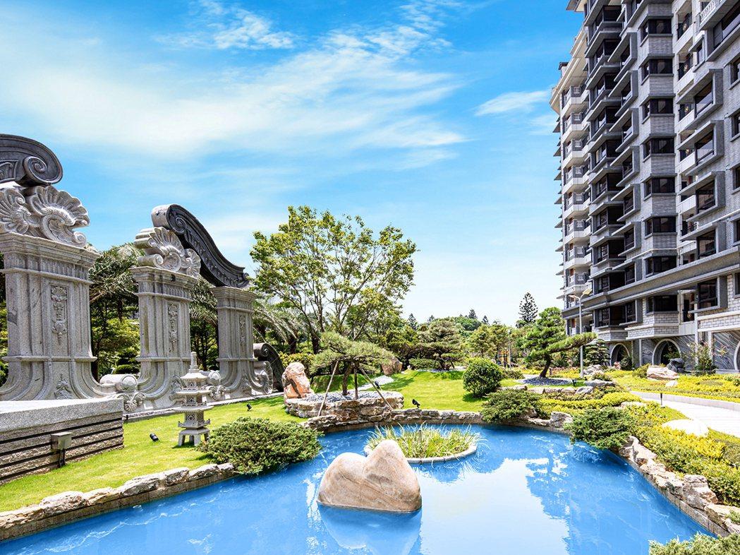 台北灣江南大宅-大基地純住宅,珍貴的留白奢華。江南大宅/提供