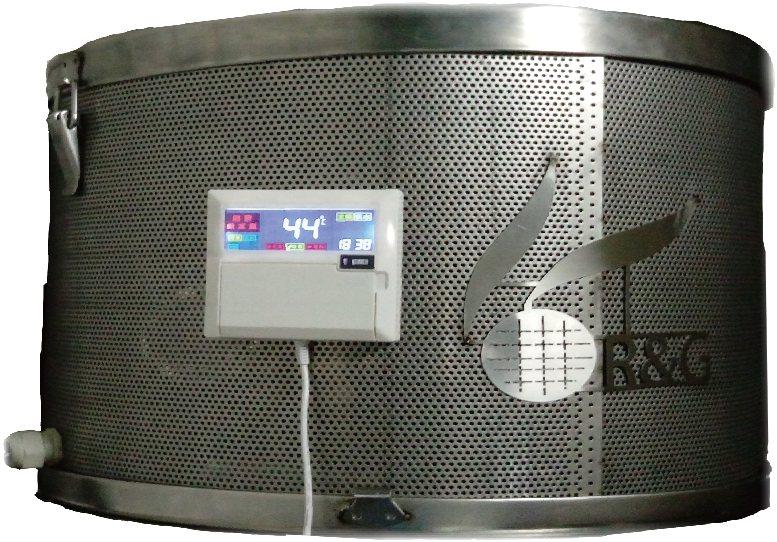 誠芳能源科技推出專利太陽能熱泵再生節能熱水器。 誠芳能源/提供