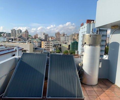 誠芳能源太陽能系統安裝實例。 誠芳能源/提供