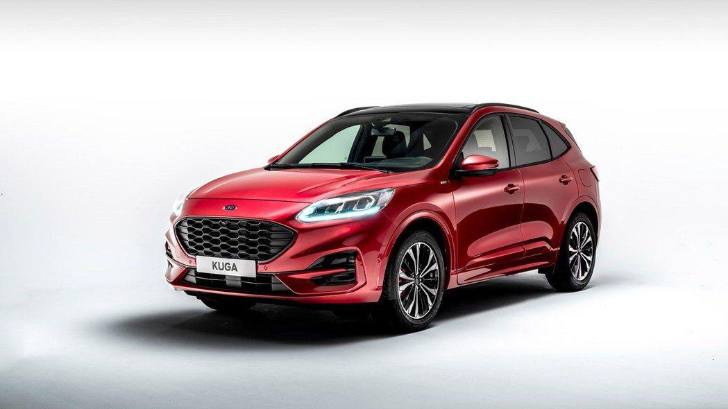 新世代Ford Kuga預計明年上半年在台灣市場發表。 圖/Ford提供