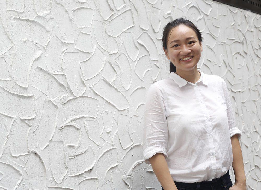 在留學過程,謝佩芬深深感受台灣的外交處境艱難。攝影/郭晉瑋