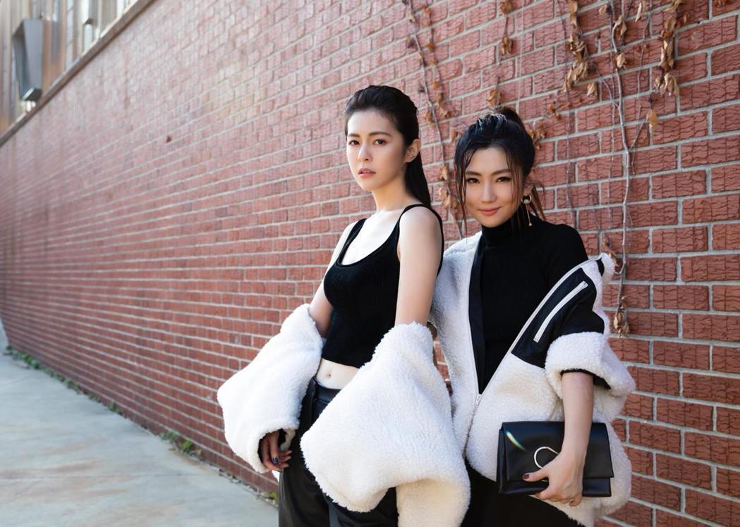 Selina與任容萱姊妹赴紐約時裝周。圖/3.1 Phillip Lim提供