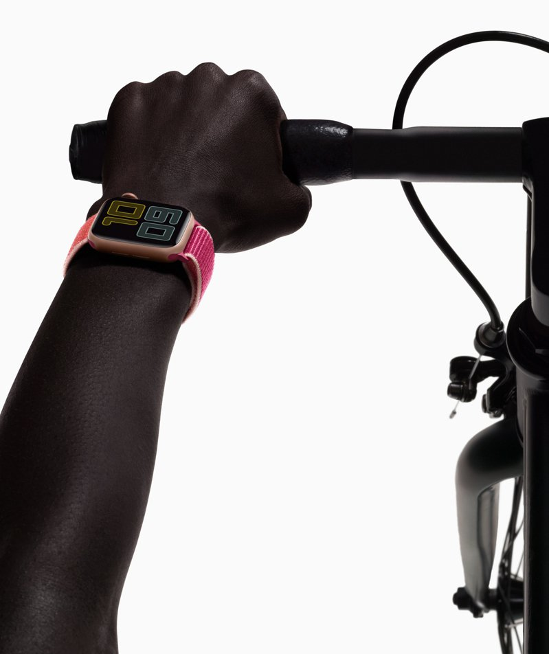Apple Watch Series 5採用全新Always-On Retina顯示器。圖/蘋果提供