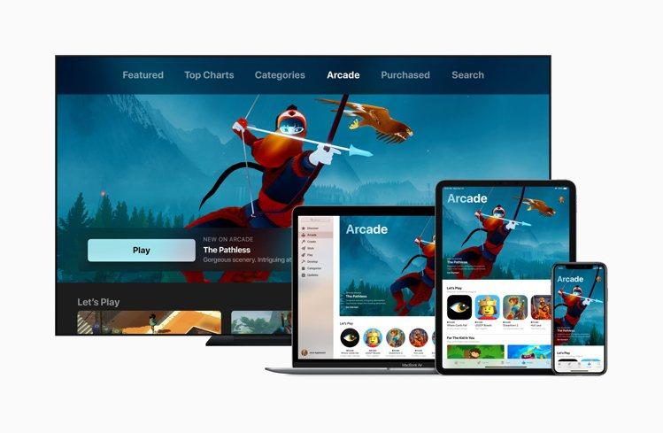 Apple Arcade遊戲訂閱服務每個月的費用為170元,最多可與6位家庭成員...