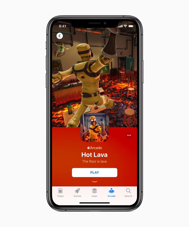 Apple Arcade將從9月19日在App Store上透過iOS 13的新...