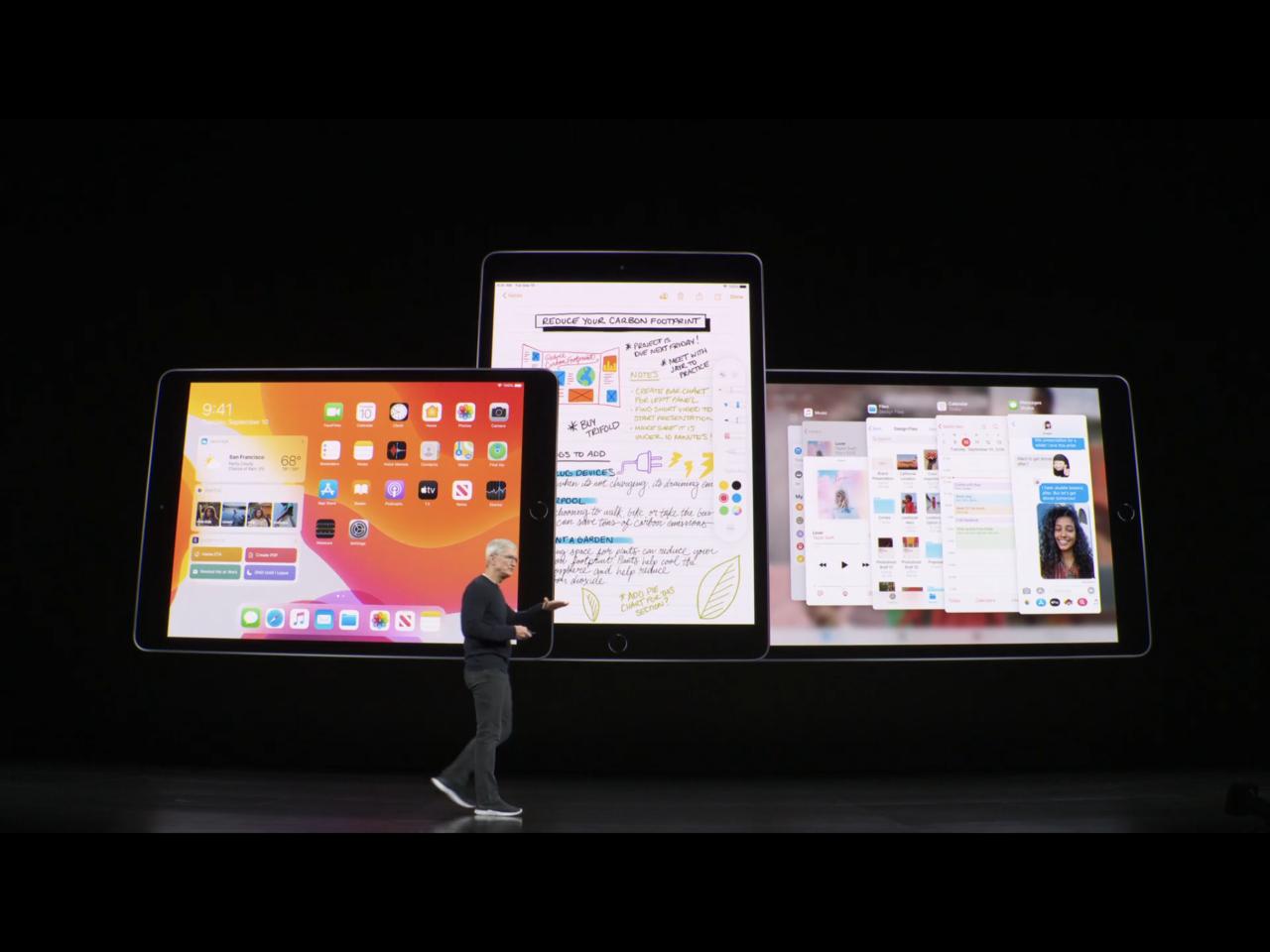 iPadOS的豐富功能,讓使用者在iPad上也有機會享受像是筆電般的檔案處理效率...