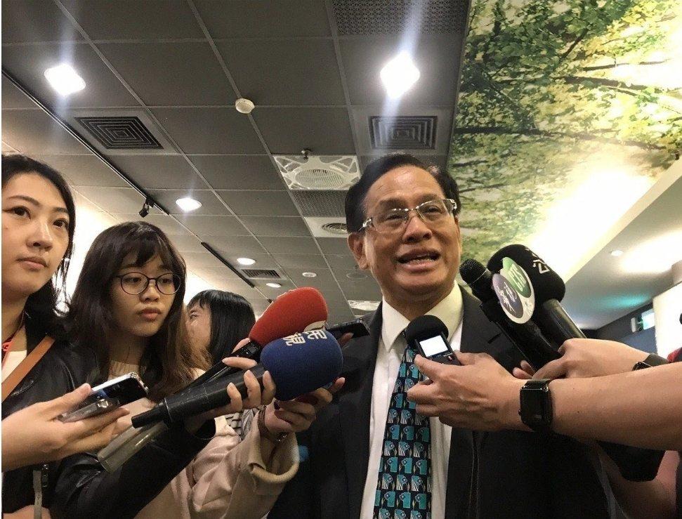 民視前董座郭倍宏在離開民視後,自組政黨喜樂島聯盟。圖/本報資料照片