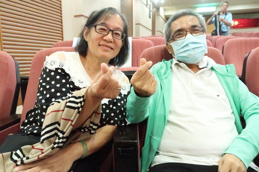 胡太太捐出65%的肝給先生,讓彼此的愛延續下去。記者徐如宜/攝影