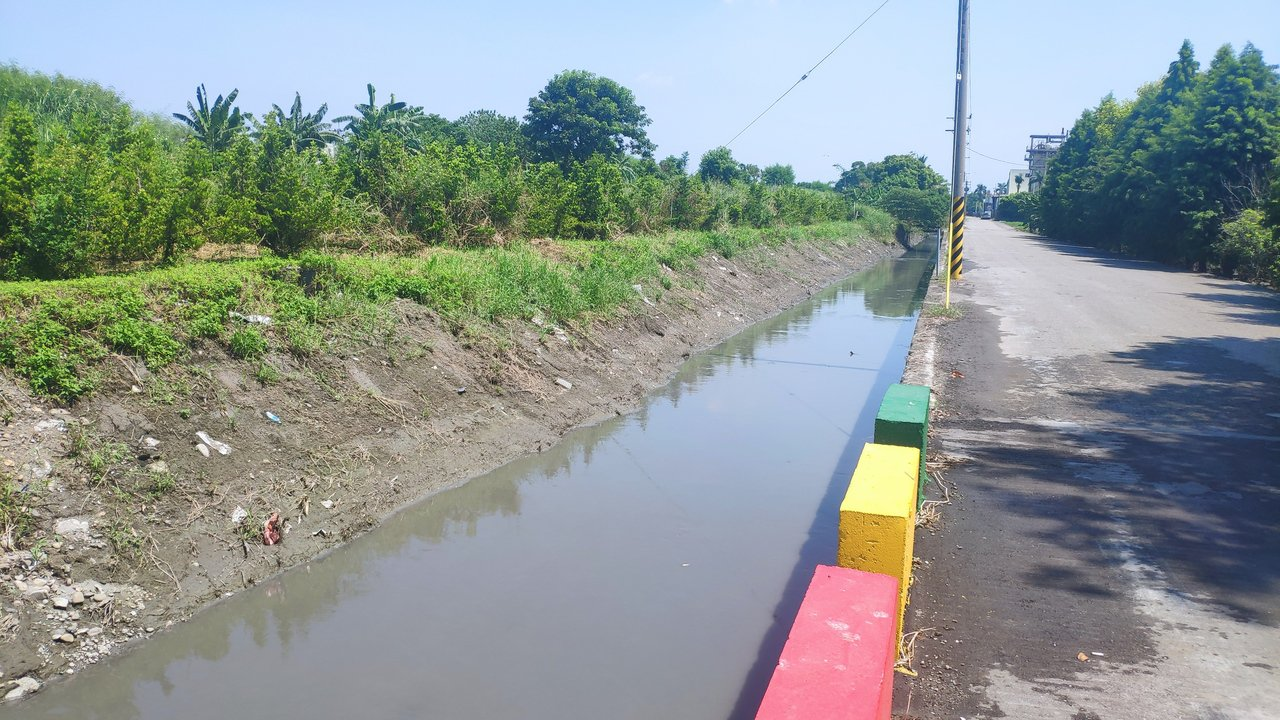 虎尾惠來厝大排只要逢大雨颱風,就會宣洩不及導致鄰近土地淹積水。記者李京昇/攝影