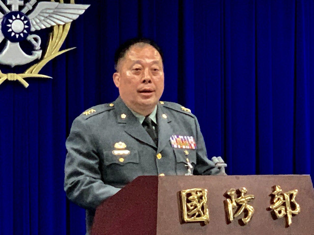 國防部常務次長徐衍璞上午表示,國軍總兵力「編制數」「目前」為21萬5000人,而...
