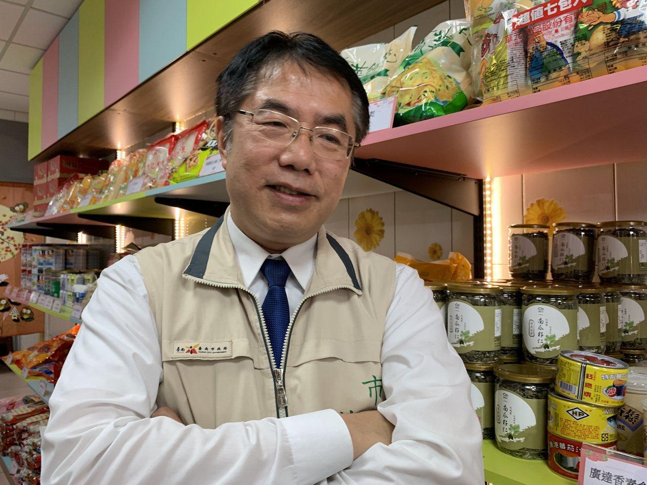 台南市長黃偉哲。聯合報系記者吳淑玲/攝影