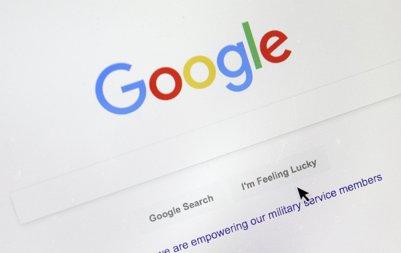 Google上人們搜尋衰退、金價的次數激增。美聯社