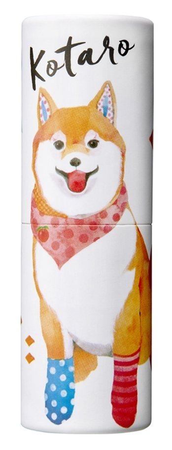 Vasilisa隨身香氛膏-柴犬小太郎,代表香氣為西印度櫻桃與玫瑰交織出的清新花...