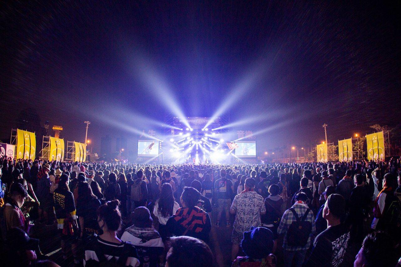 「大港開唱」吸引許多流行音樂迷。圖/摘自大港開唱臉書