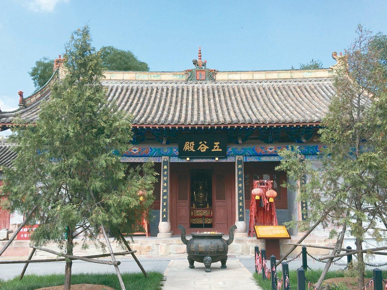 高平炎帝陵,是現今大陸最大祭祀神農炎帝的建築群。上圖為五谷殿,炎帝陵唯一一座保存...