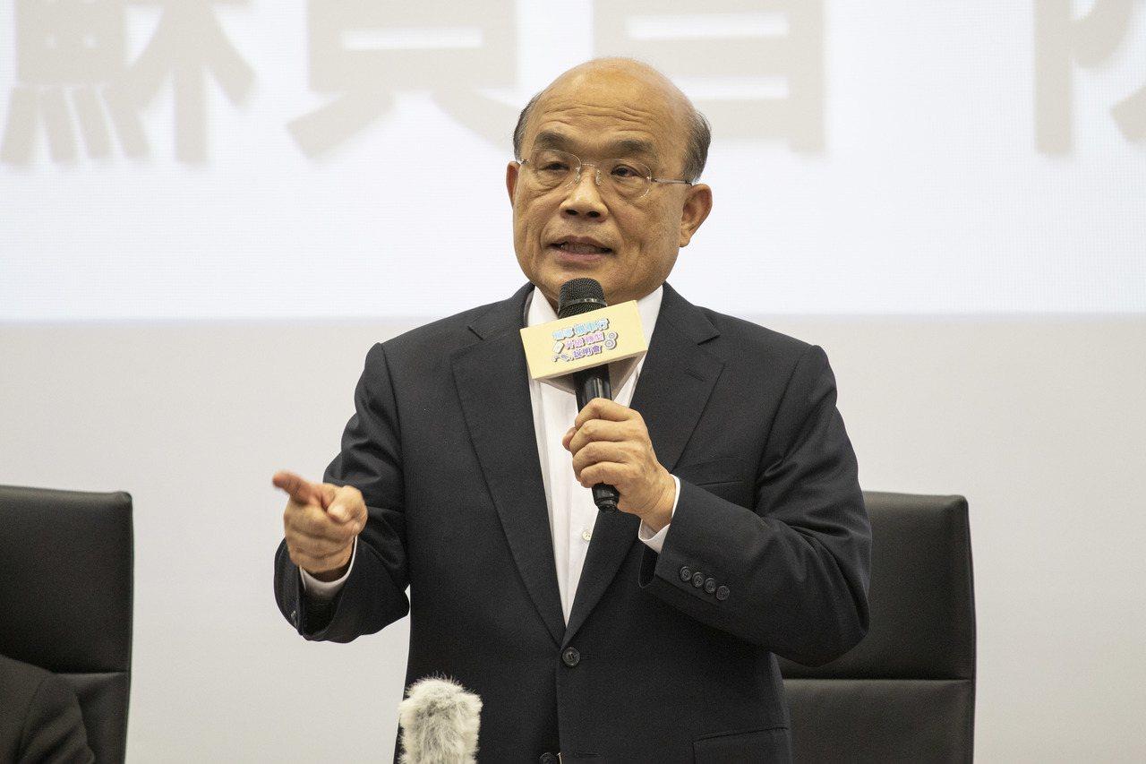 行政院長蘇貞昌日前指示研議減少機車貨物稅,財政部初步規畫從現有優惠加碼進行。 圖...