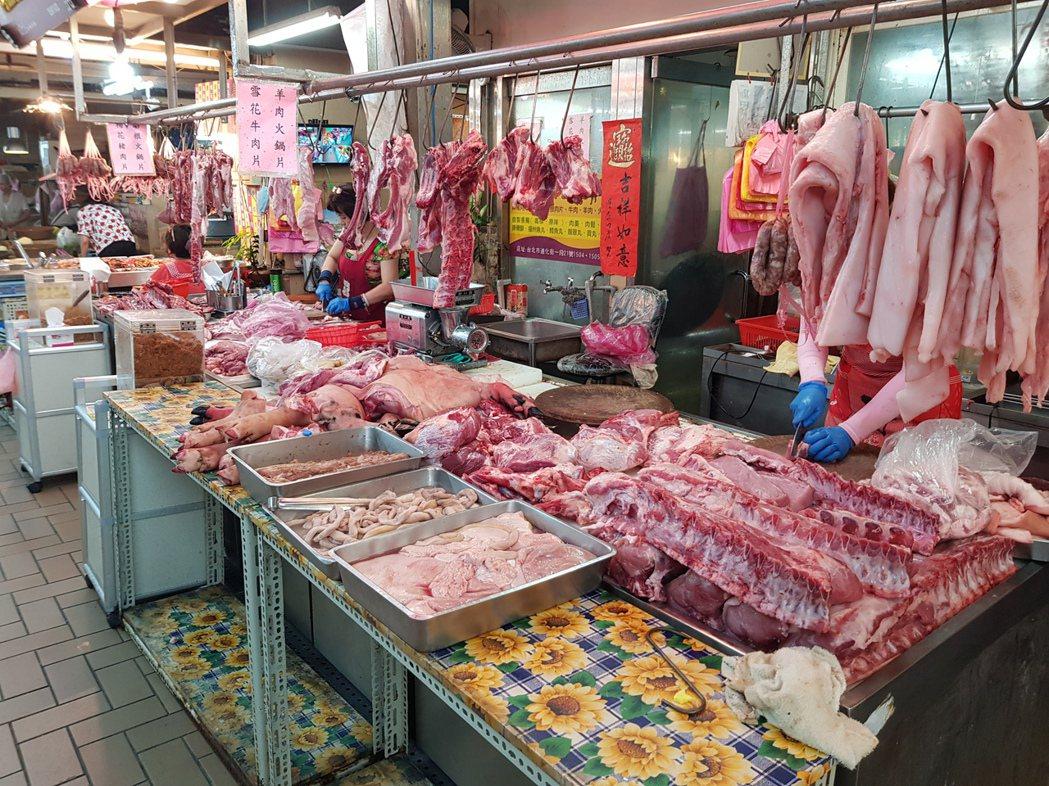 在各式肉類產品當中,國人消費最大宗的仍是豬肉、禽肉。記者翁浩然/攝影