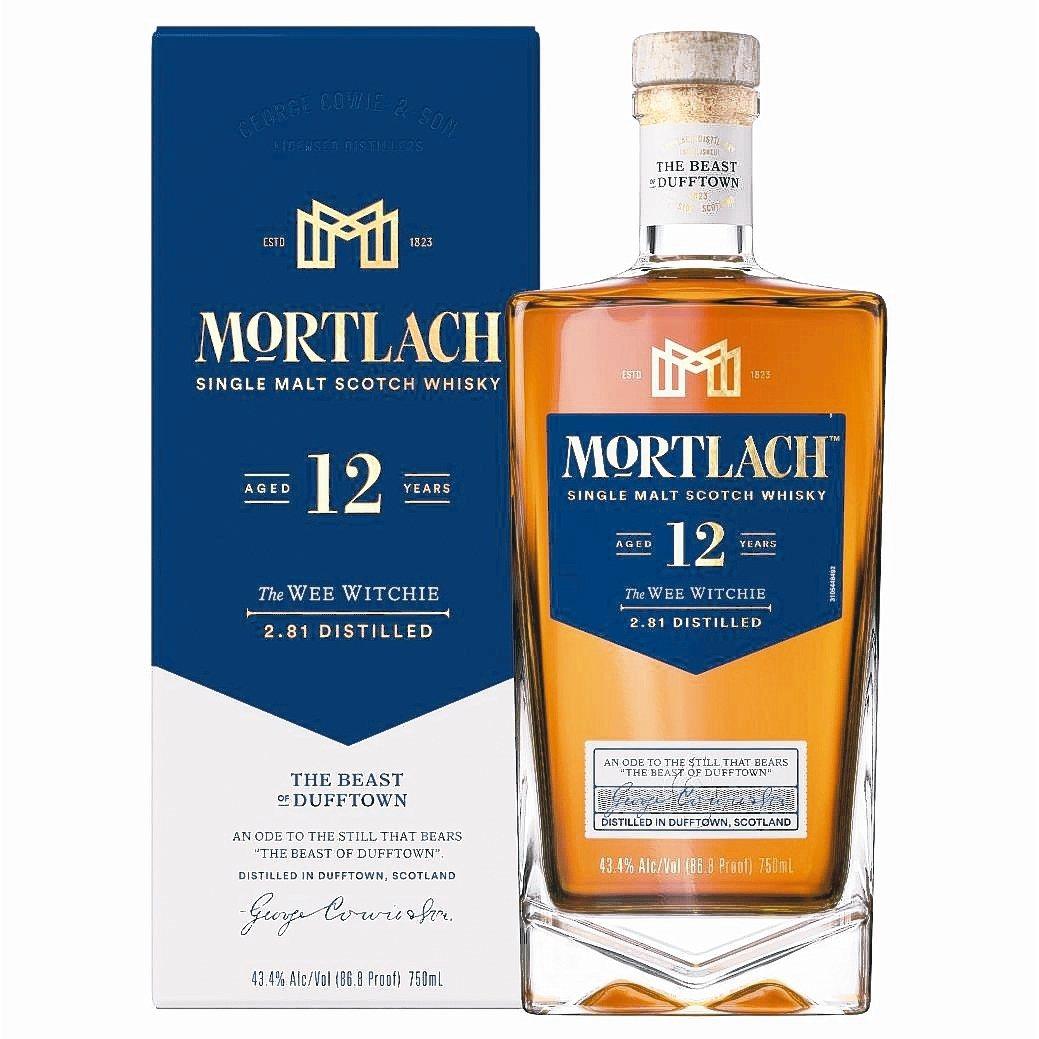 Mortlach慕赫2.81-12年單一麥芽威士忌。 DIAGEO/提供