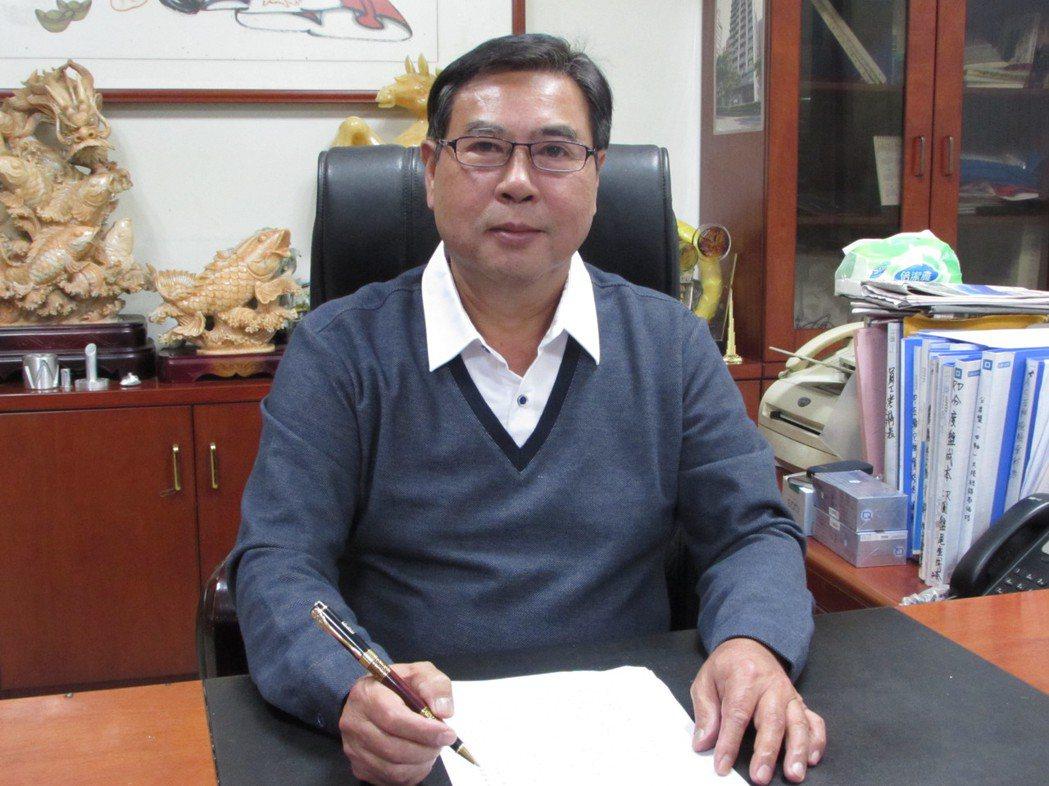德士凸輪董事長李岳達。 翁永全/攝影