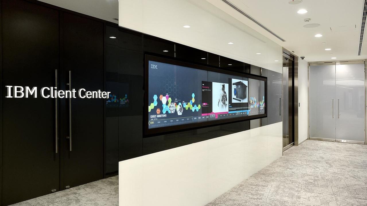 全新的IBM客戶中心。 圖/IBM提供