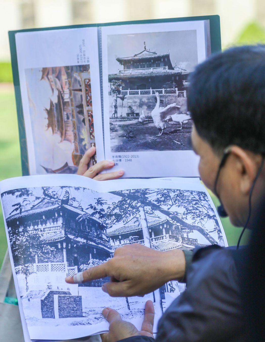 南美館舉辦郭柏川回顧展推廣活動-藝術漫遊。  南美館 提供