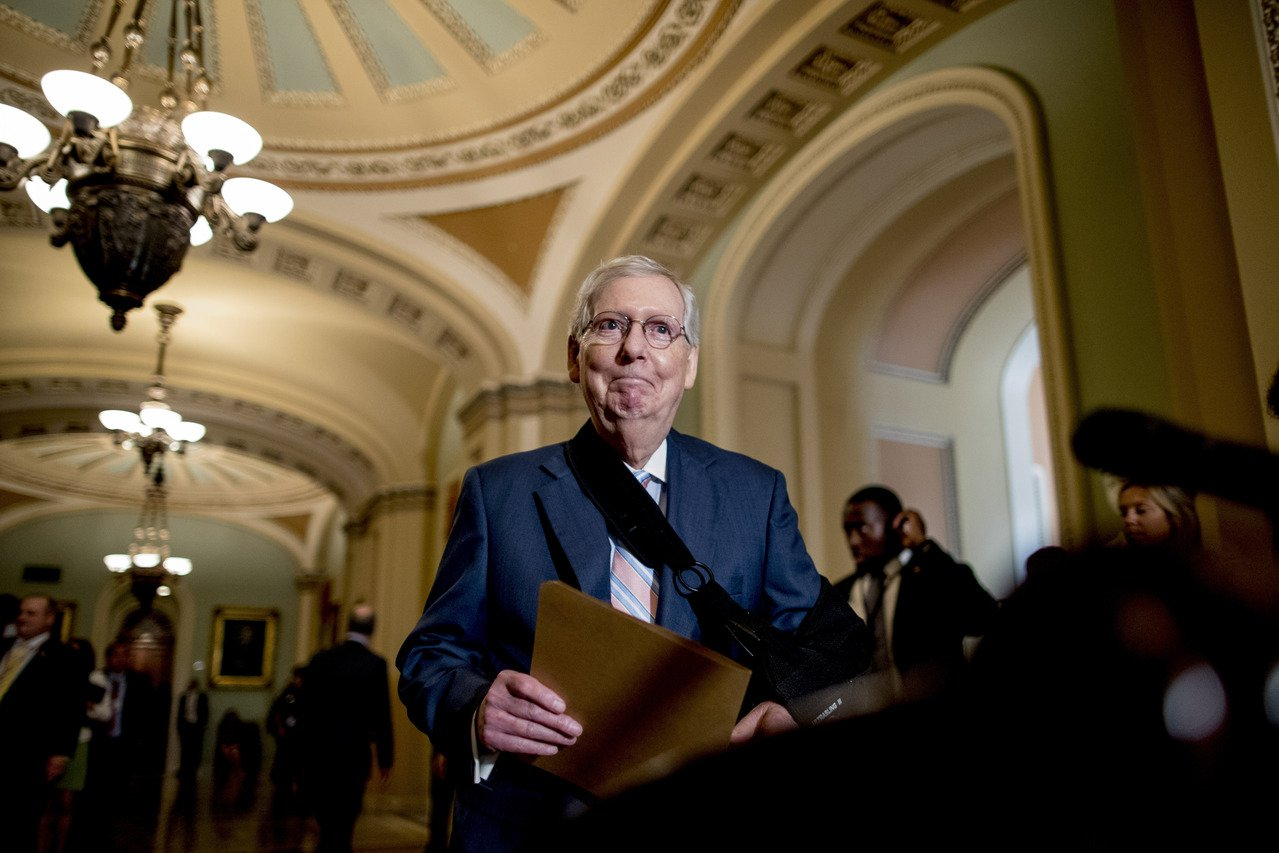 共和黨國會參院領袖麥康諾表示,波頓了解美國利益面臨許多威脅,就算美國讓步,這些威...