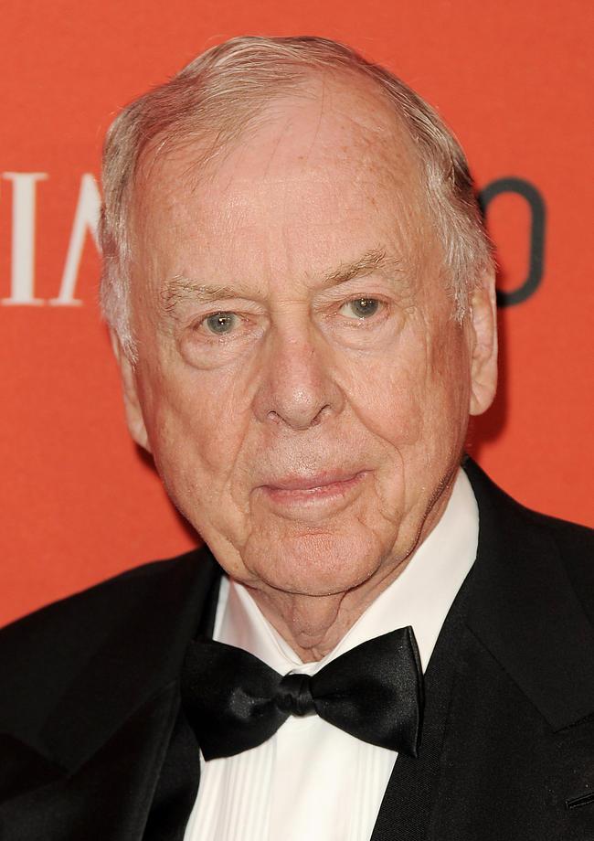 美國石油大亨皮肯茲(BoonePickens),在家中辭世,享耆壽91歲。歐新社