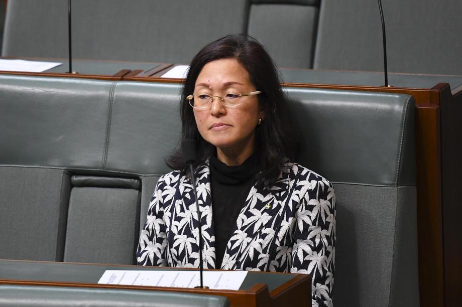 澳洲議員廖嬋娥(Gladys Liu)因與中國共產黨關係匪淺而飽受壓力。 圖/歐...