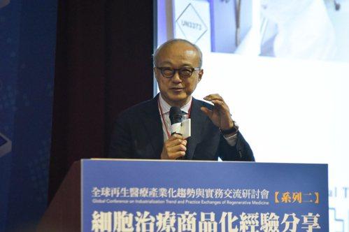 MEDINET副總裁鈴木邦彥。 黃啟銘/攝影。