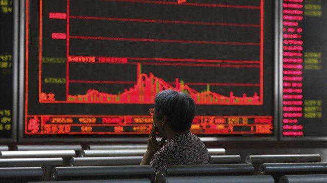 中國大陸A股今年表現遠遠優於在香港上市的H股,反映大陸投資人看好中國經濟能挺過貿...