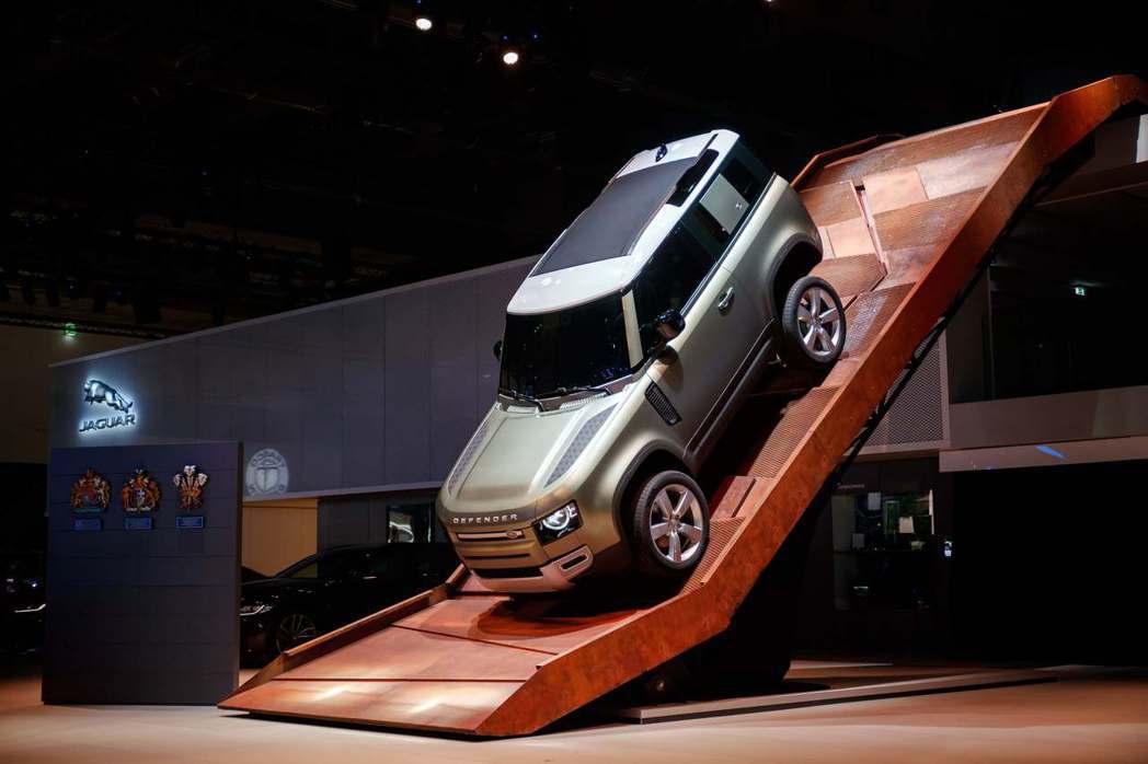 Land Rover史上最強4x4全地形王者Defender法蘭克福車展全球首演...