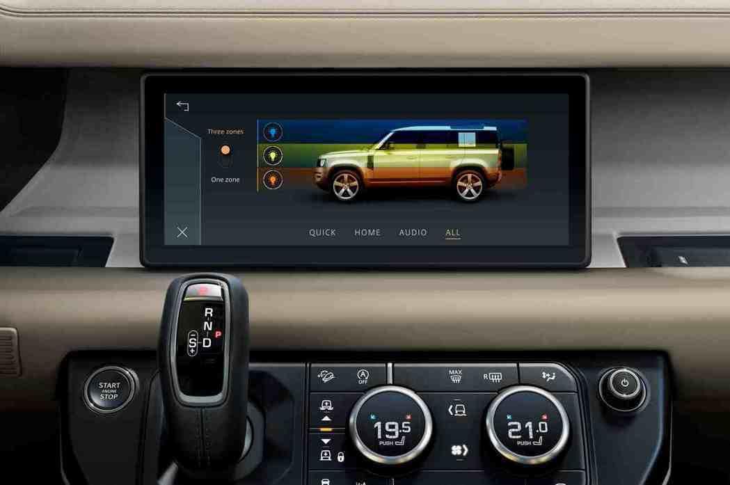 次世代越野科技包含Land Rover首度導入的全地形反應系統個人化調整功能(C...