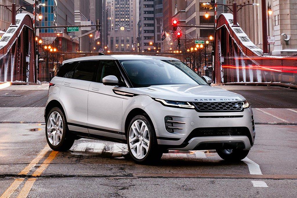 全新第二代Land Rover Range Rover Evoque將先提供汽油...