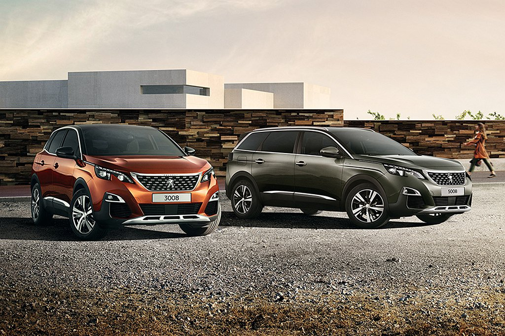 Peugeot 3008、5008兩款休旅新增1.6L汽油渦輪動力,各跑出15....