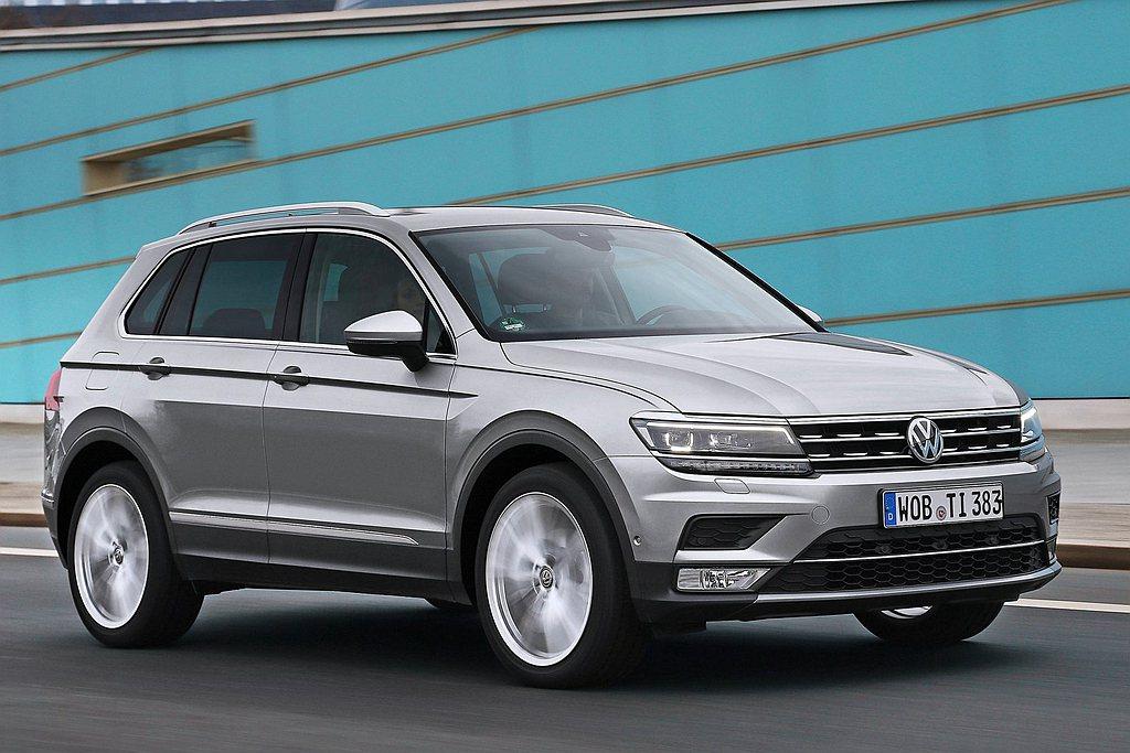 熱賣的Volkswagen Tiguan今年正式搭載Volkswagen IQ....