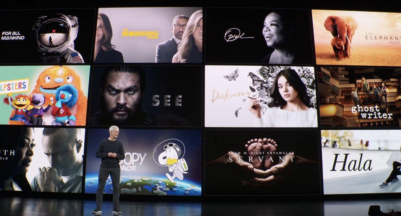 蘋果公佈Apple TV+價格,每戶家庭月付$4.99美元(約新台幣150元),...