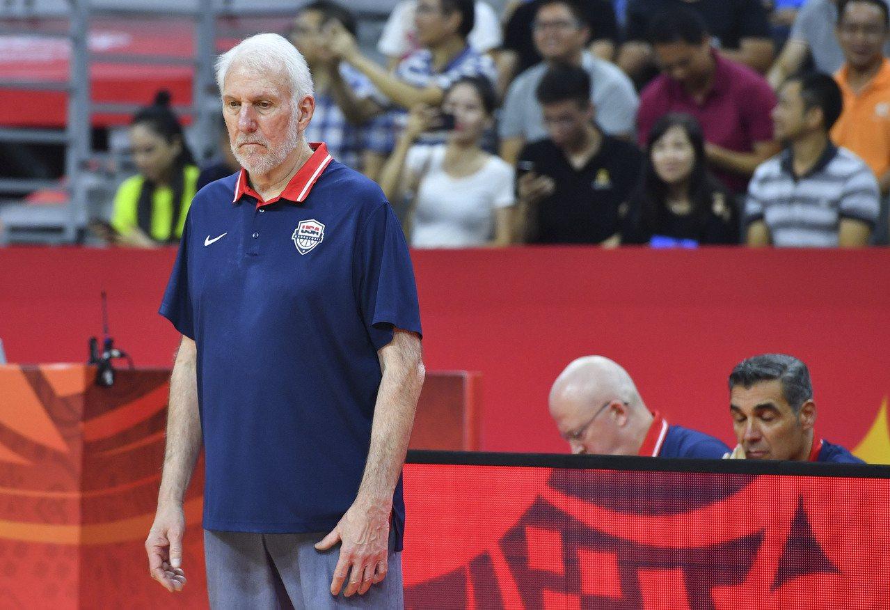 美國兵敗世籃賽創多項難堪紀錄。 新華社