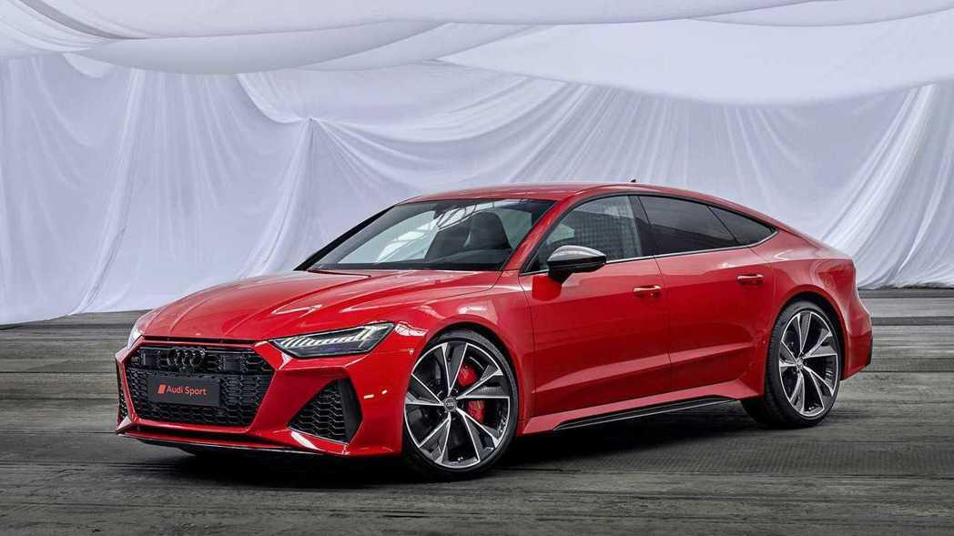 Audi RS 7 Sportback。 摘自Audi