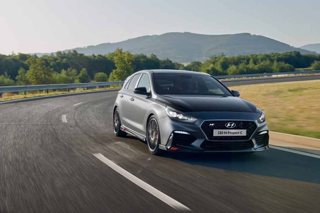 Hyundai i30 N Project C在法蘭克福車展上正式發表。 摘自H...