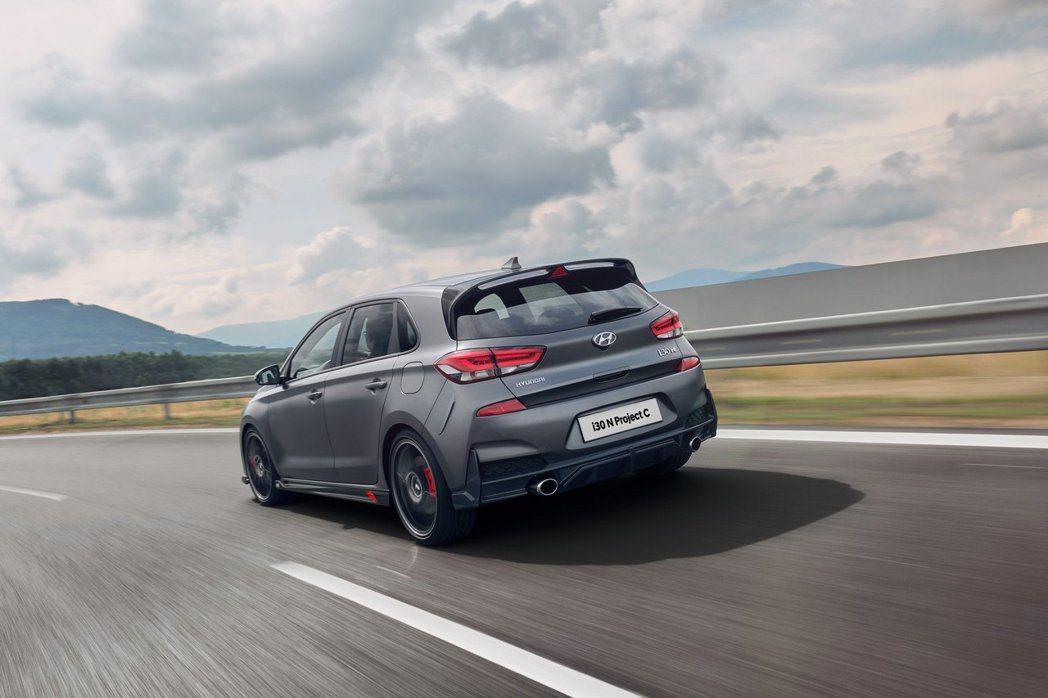 Hyundai i30 N Project C僅在歐洲販售且限量600台。 摘自...