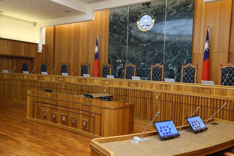 法庭示意圖。 圖/聯合報系資料照