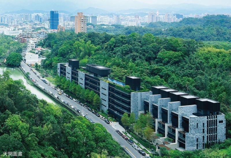 永陞建設過去代表作均為北市景觀名邸,吸引無數名流客層。 圖/聯合公園 提供