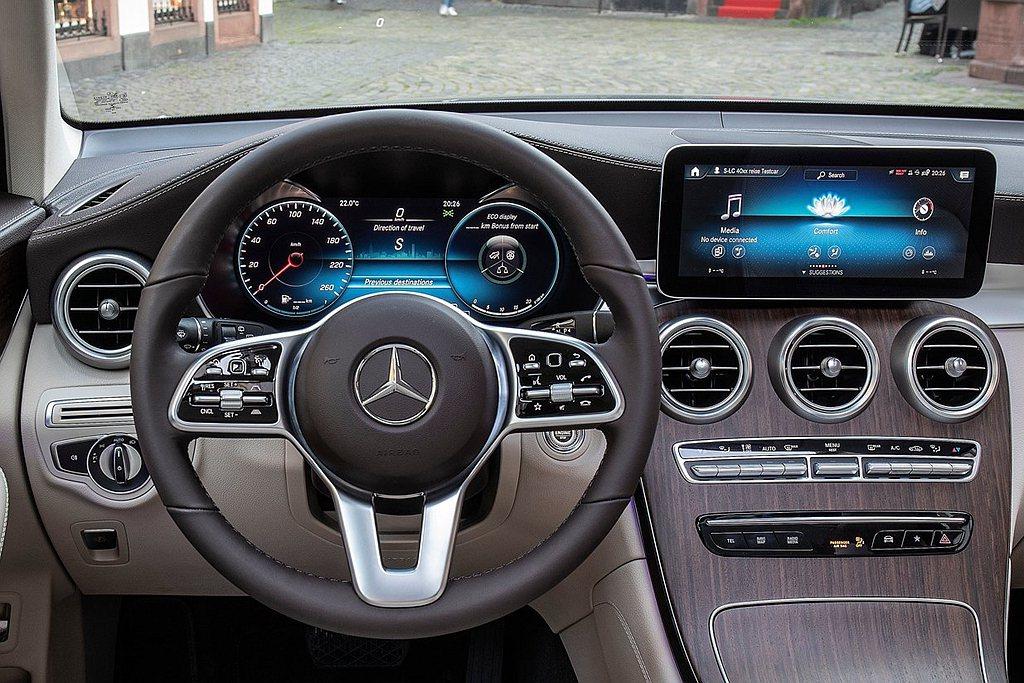小改款賓士GLC/GLC Coupe跟進搭載MBUX多媒體系統以及Mercede...