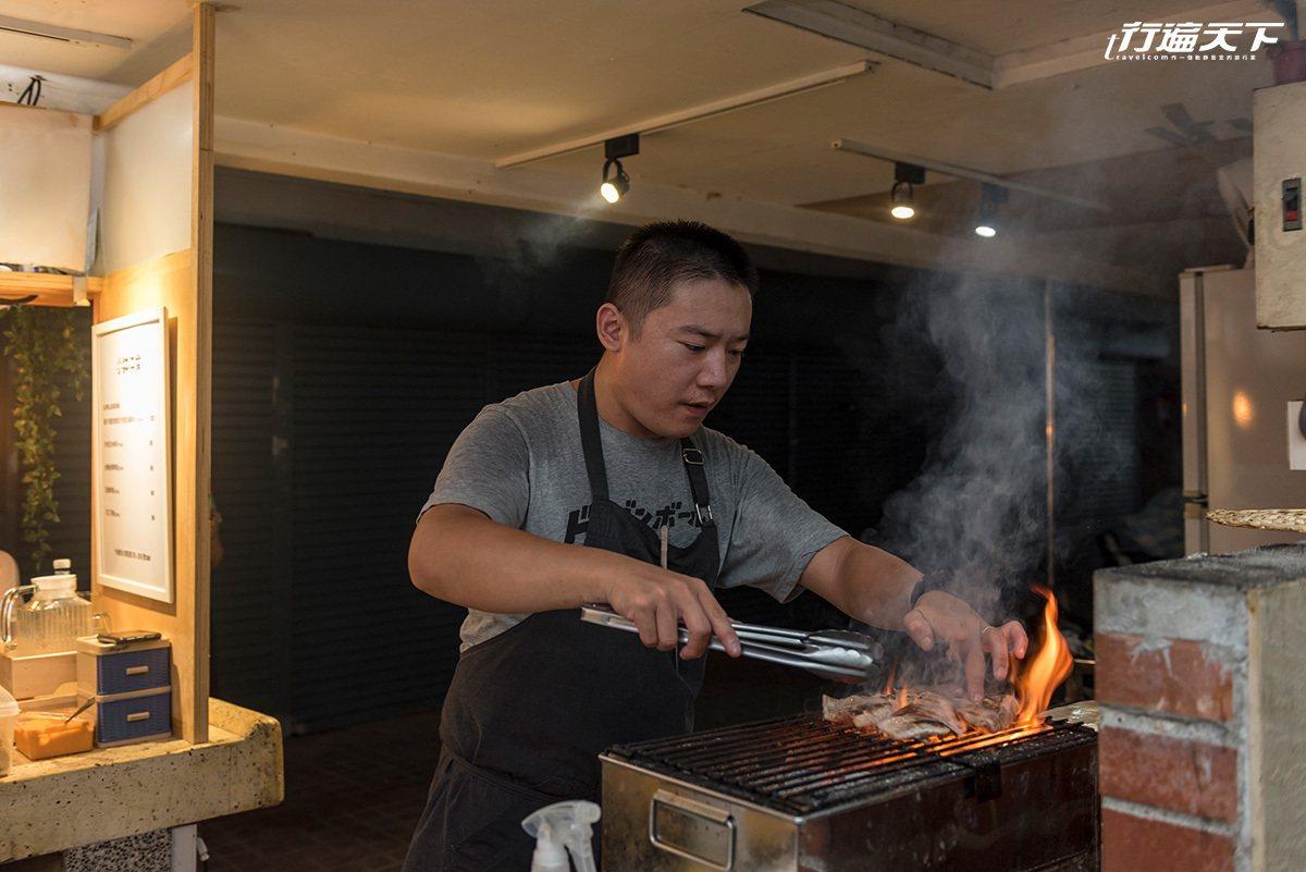 旅居澳洲多年的Marc,擁有在法式餐廳豐富的工作經歷。
